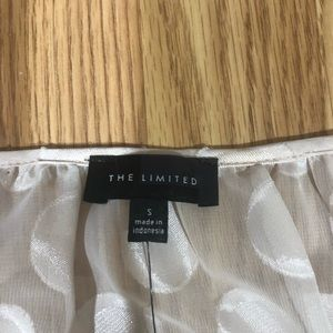 The Limited Tops - The Limited Long Sleeve Sheer Blouse NWT
